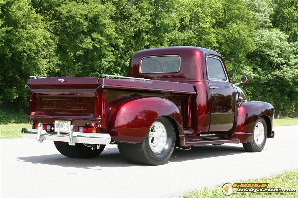 Pro Street Chevy Pickup