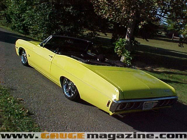 Gauge Magazine 1968 Chevy Impala Convertible