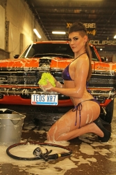 May 2015 Gauge Girl Rebecca   Glam