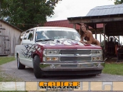 flamed out 1995 Chevy suburban