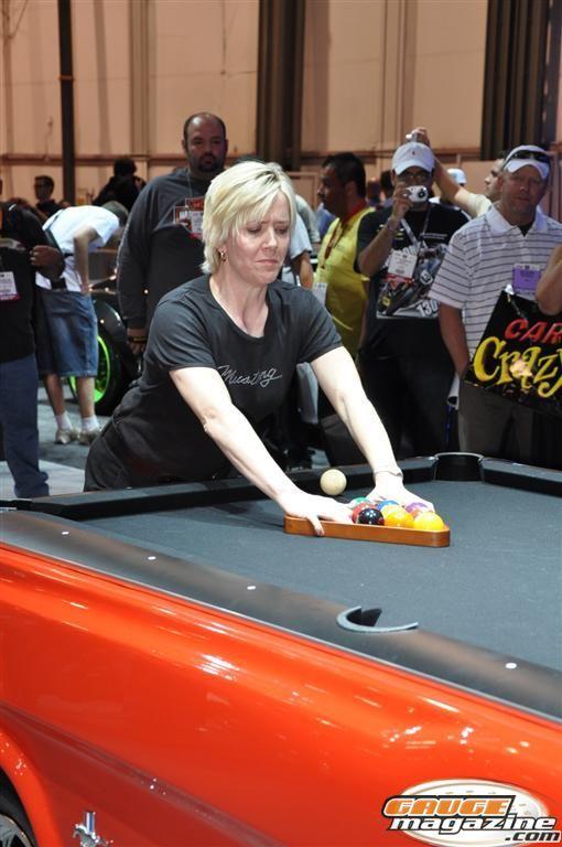 Allison Fisher Billards Super Star SEMA 2010