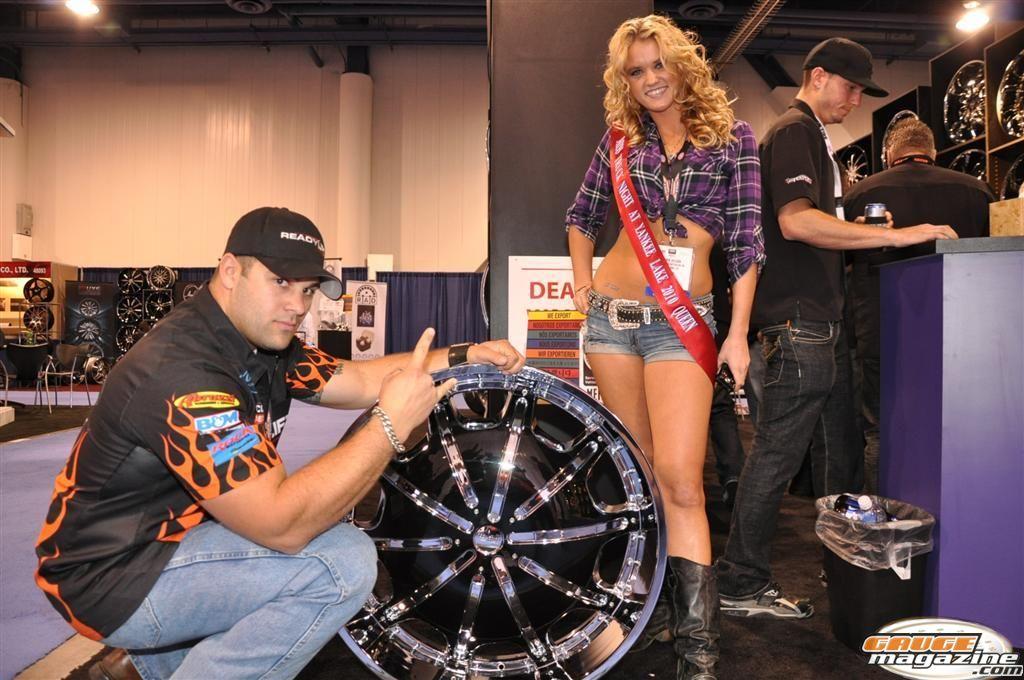 Joe Sylvester monster truck driver SEMA 2010