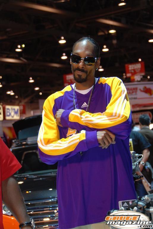 Snoop Dog at SEMA 2010