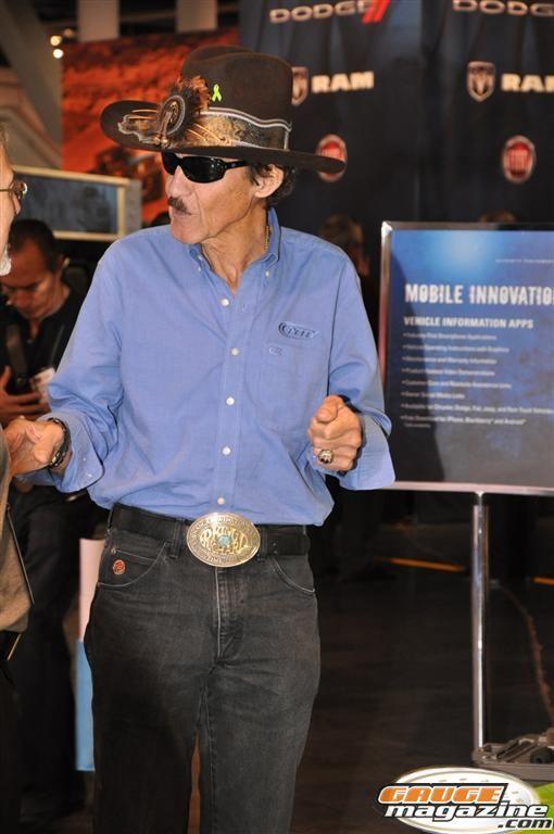 The King Richard Petty Legenday NASCAR Driver SEMA 2010