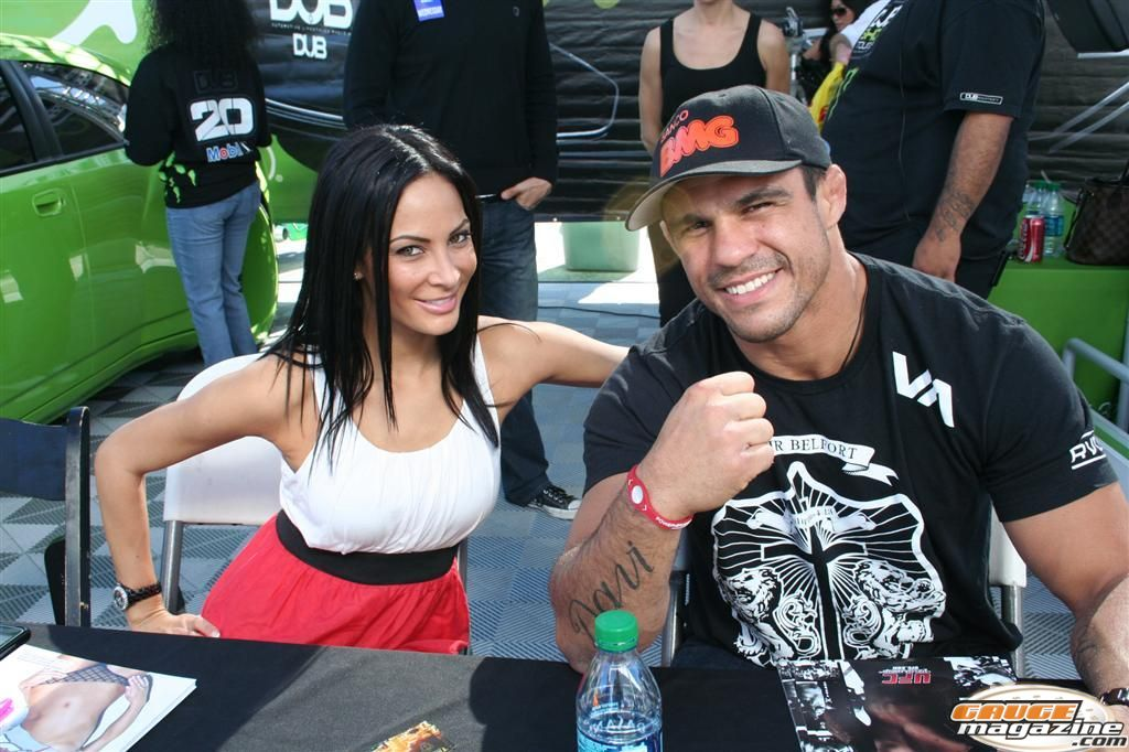 Victor Belfort UFC and MMA fighter SEMA 2010