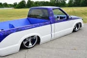 awesome slammed 1998 Chevy s10
