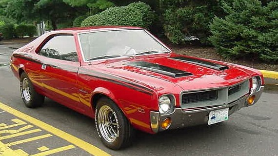 1968 AMC Javelin base model