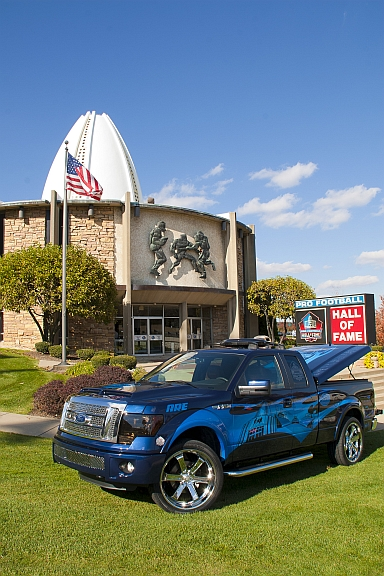 NFL hall of fame truck