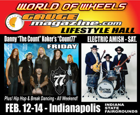Gauge Magazine Hall World of wheels Indianapolis