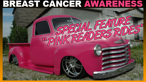 breast cancer awareness pink cars and trucks