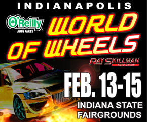 Indianapolis World of Wheels 2015