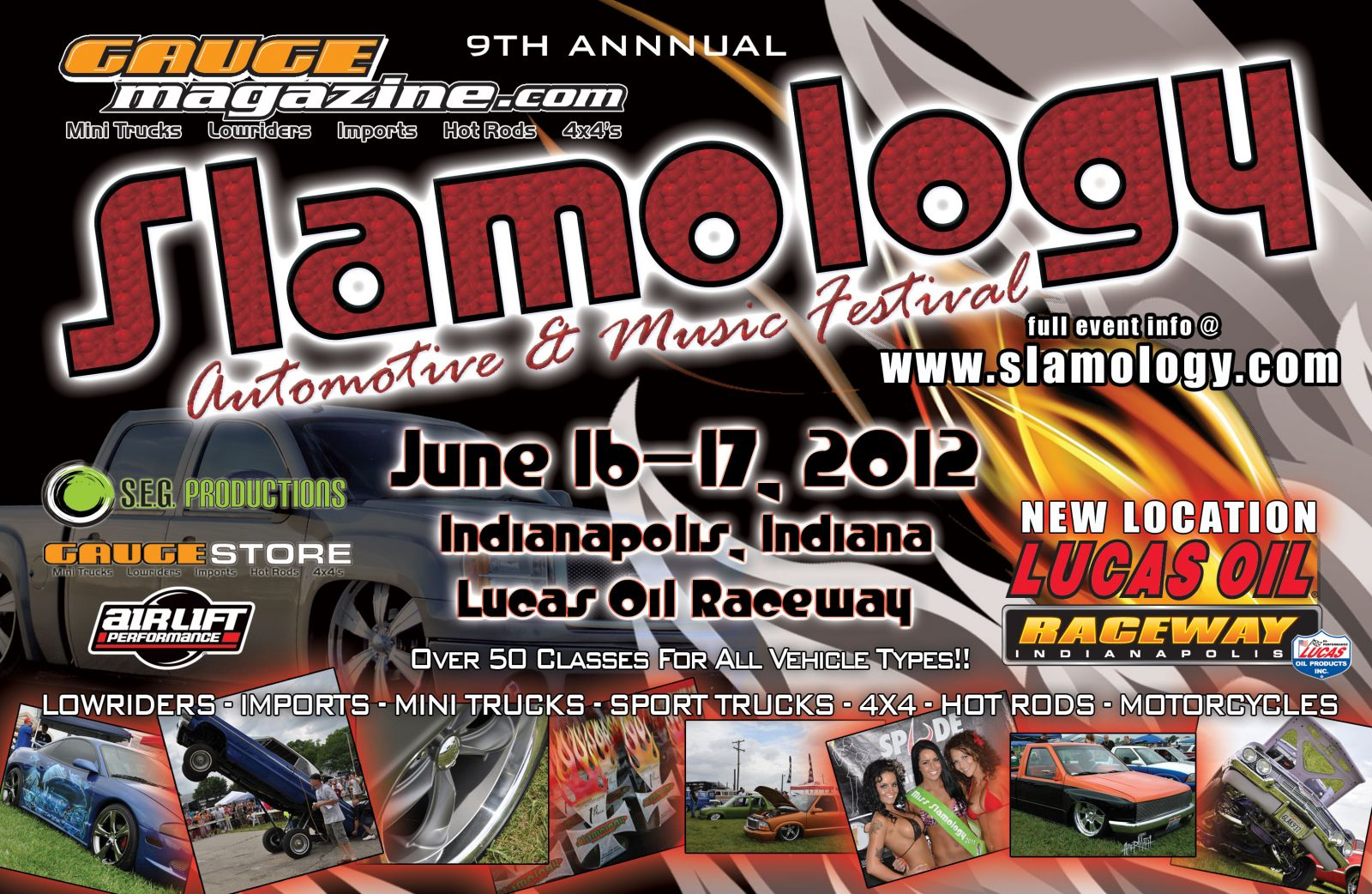 Slamology 2012 flyer