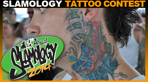 Tattoo Contest at Slamology 2014