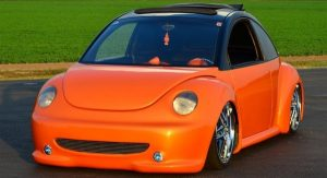 "2000 VW Beetle ""5 Star Entertainment"" owned by Phillip Carey"