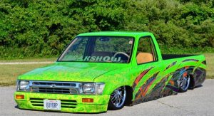 "1990 Toyota Pick-up owned by Richard ""Halfdead"" Knip"