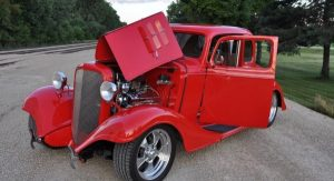 1933 Chevy Master 5 Window Coupe owned by Gordon Walker