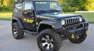 2012 Jeep 2 Door Wrangler owned by McLaren Sound System