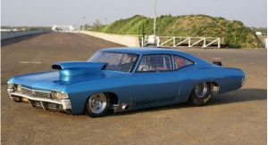 1968 Chevy Impala Fastback owned by Dave Evans and Andy Bennett