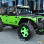 4 Wheel Drive Trucks of SEMA 2014