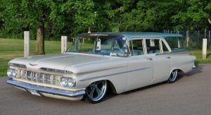 1959 Chevy Wagon owned by Rusty Townsend