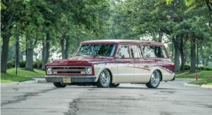 1969 Chevy Suburban owned by Jim Kriel