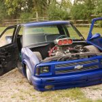 1995 Chevy S-10 on Air Suspension