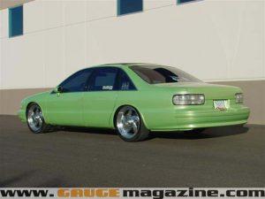 1998 Chevy Caprice Custom - Gauge Magazine