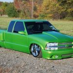 2000 Chevy S-10 on Air Suspension