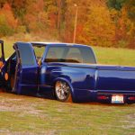 1996 Chevy S-10 Custom on Air Suspension