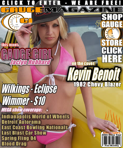 Gauge Magazine Issue - April 2004