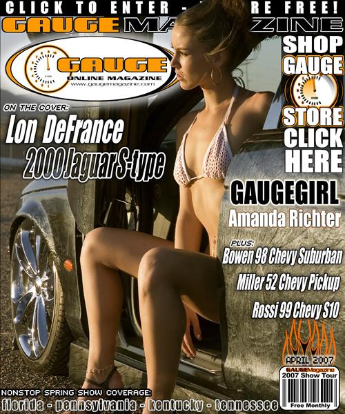 Gauge Magazine Issue - April 2007