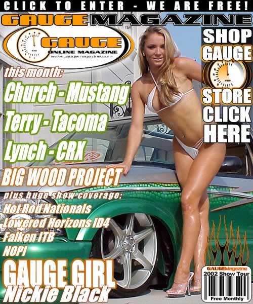 Gauge Magazine Issue - August 2002