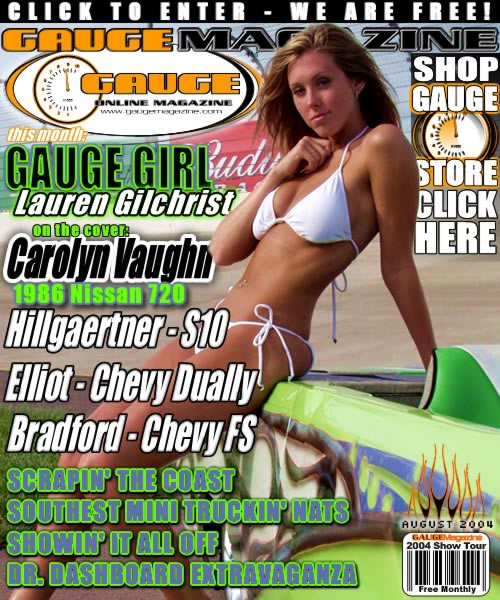 Gauge Magazine Issue - August 2004