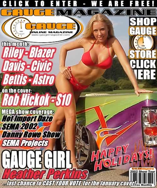 Gauge Magazine Issue - December 2002