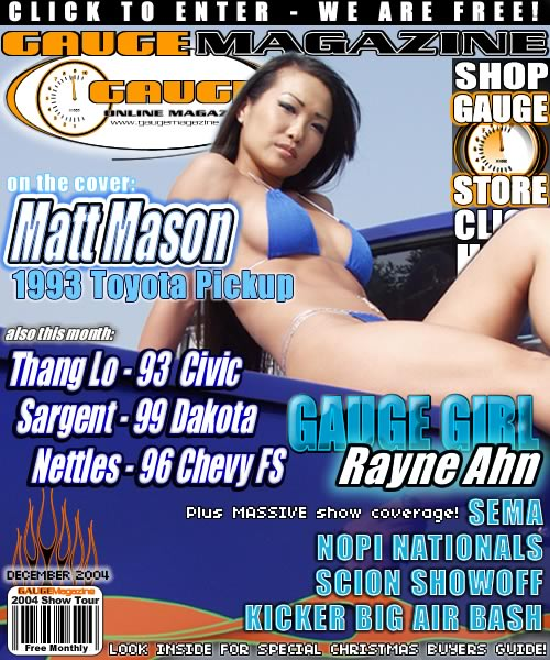 Gauge Magazine Issue - December 2004