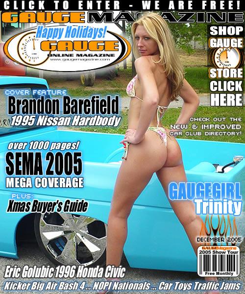 Gauge Magazine Issue - December 2005