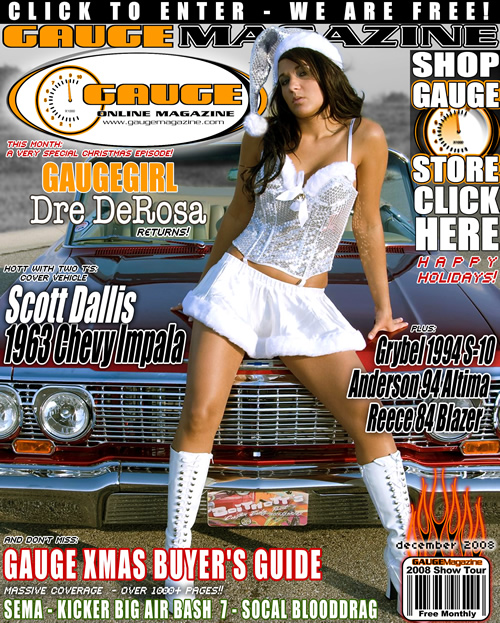 Gauge Magazine Issue - December 2008