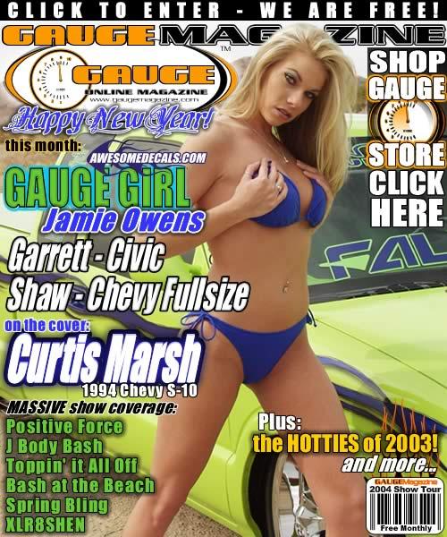 Gauge Magazine Issue - January 2004