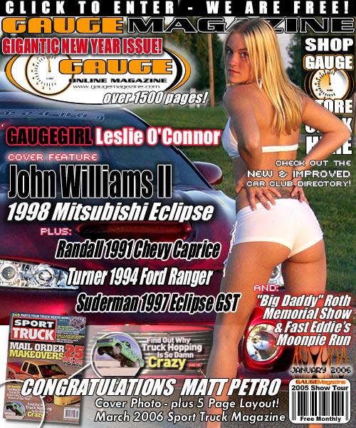 Gauge Magazine Issue - January 2006
