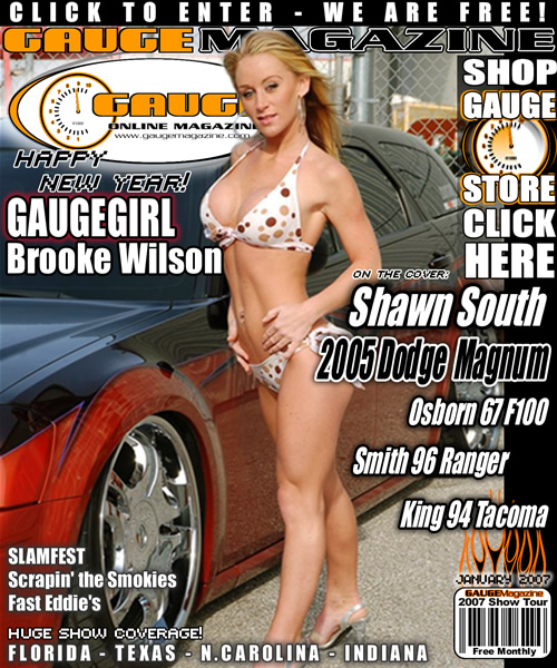 Gauge Magazine Issue - January 2007