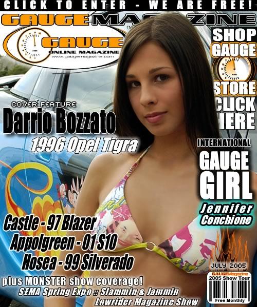 Gauge Magazine Issue - July 2005