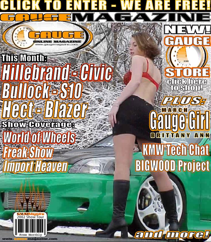 Gauge Magazine Issue - March 2002