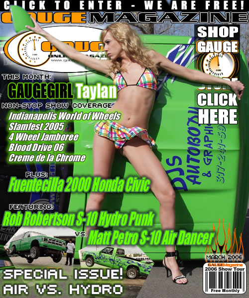 Gauge Magazine Issue - March 2006
