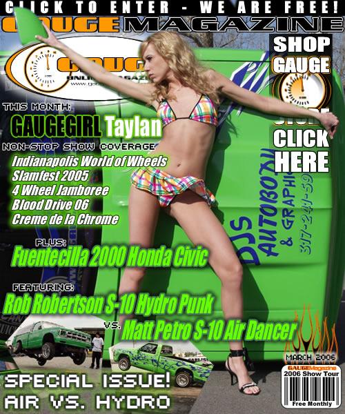 Gauge Magazine Issue - March 2006