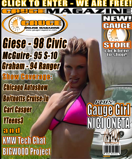 Gauge Magazine Issue - May 2002