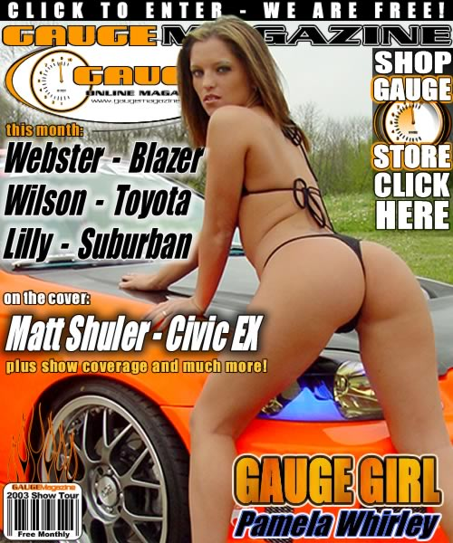 Gauge Magazine Issue - May 2003