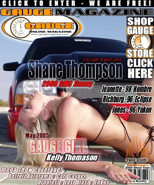 Gauge Magazine Issue - May 2005