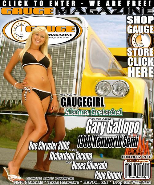 Gauge Magazine Issue - November 2007