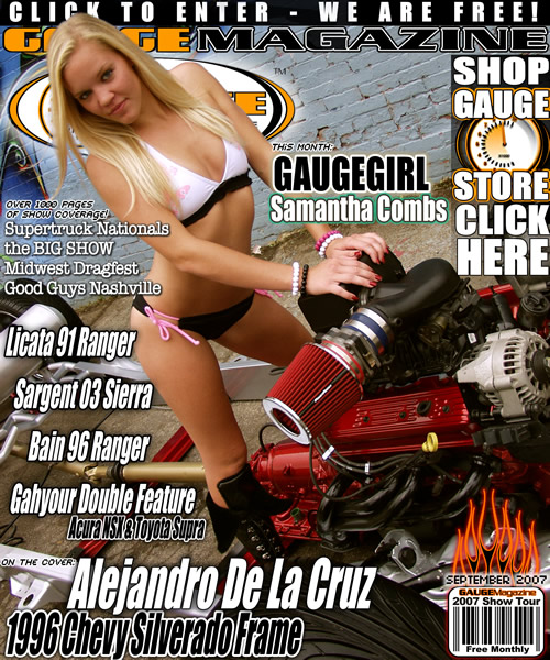 Gauge Magazine Issue - September 2007