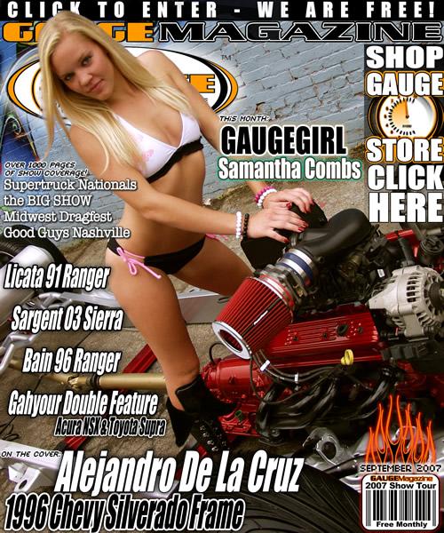 Gauge Magazine Issue - September 2007